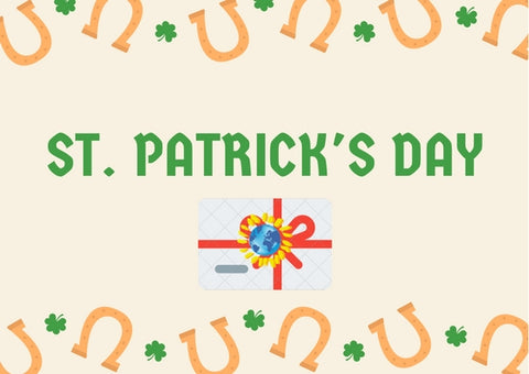St. Patrick's Day Gift Card - Mondosol shop