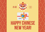 Chinese New Year Gift Card - Mondosol shop