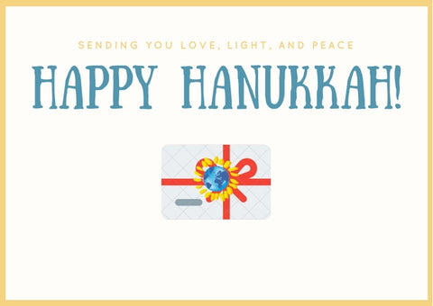 Hanukkah's Day Gift Card - Mondosol shop