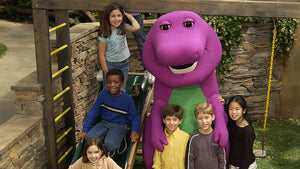 Barney The Dinosaur Singing I LOVE YOU