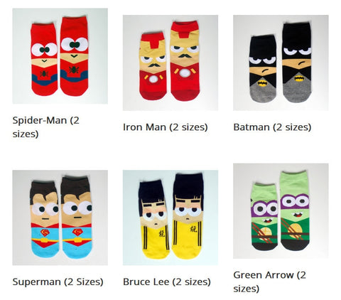 Superheroes Socks