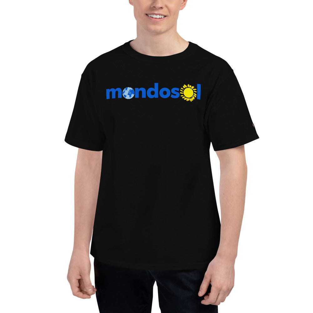 Mondosol logo Men's Champion T-Shirt