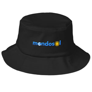 Mondosol logo Old School Bucket Hat