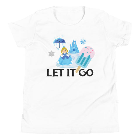 Let it go Youth T-Shirt