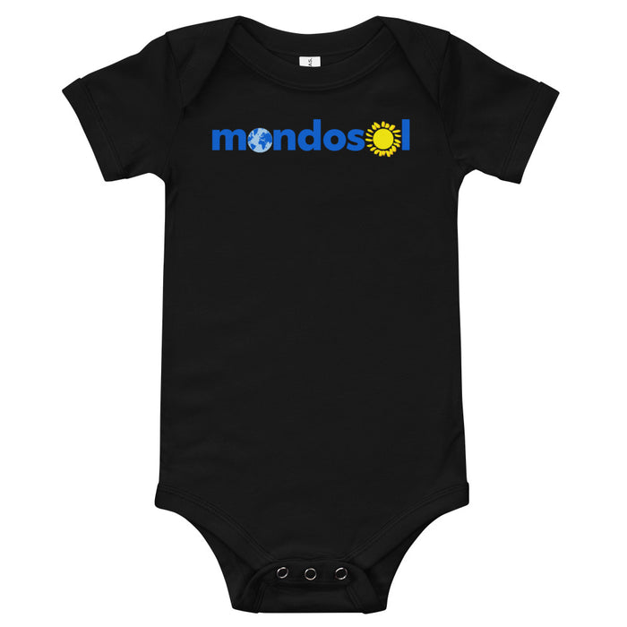 Mondosol logo Baby body one piece