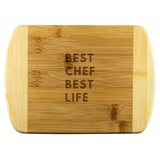 Round Edge Wood Cutting Board Best Chef Best Life