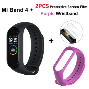Global Version Xiaomi Mi Band 4 Smart Band Fitness Tracker bracelet Heart Rate Tracker Colorful Display Instant Message 135mAh