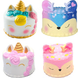 Deer Cake Squishy toy for children