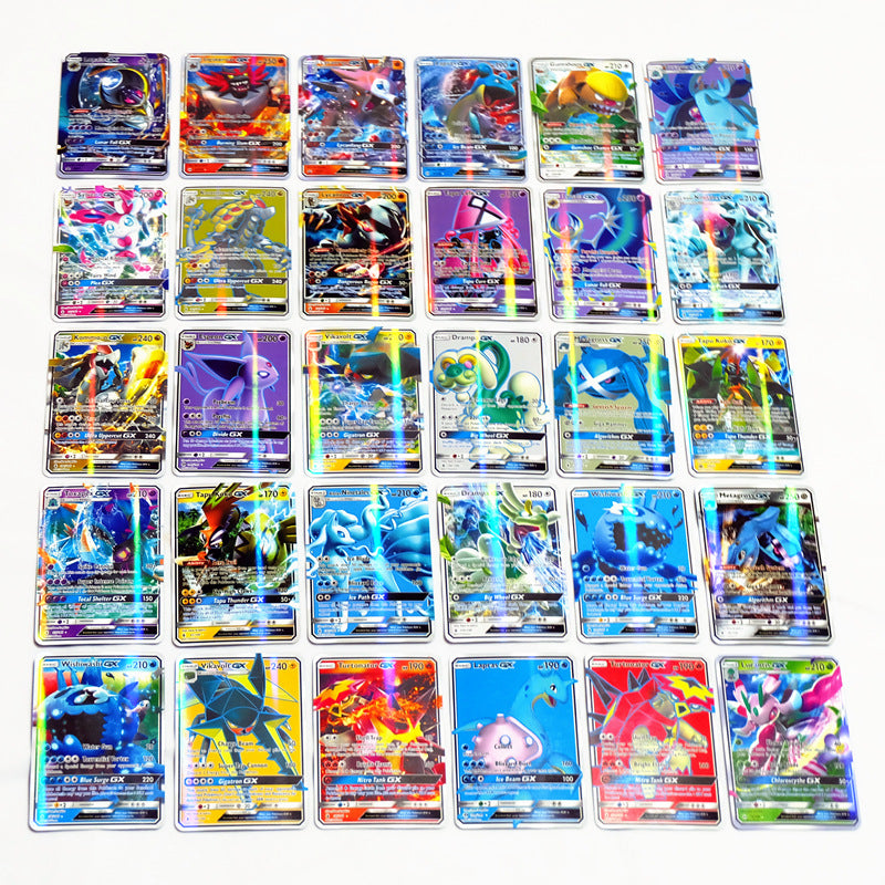 200 Pcs GX MEGA Shining Cards Game Battle Carte Trading Cards Game Children Toy