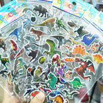 10 Sheets Stickers 3D