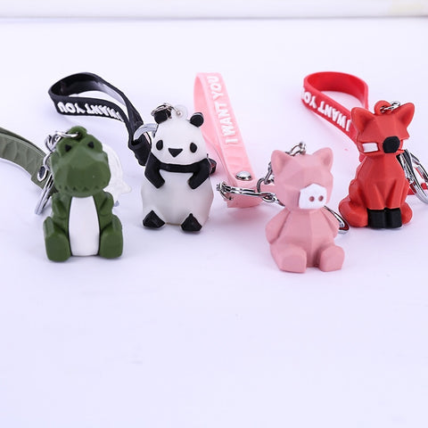 Cartoon Dolls Animals Keychain Toys