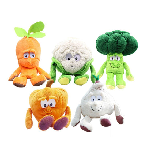 Plush Fruits and Vegie
