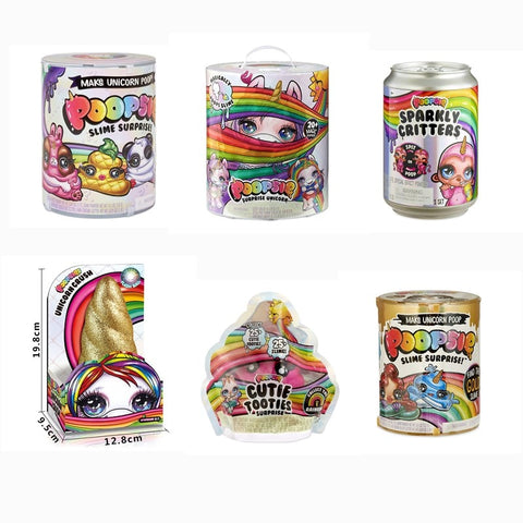 Poopsie Slime Surprise Licorne Sparkly Critters Rainbow Bright Star Unicorn Squishy Children Toys