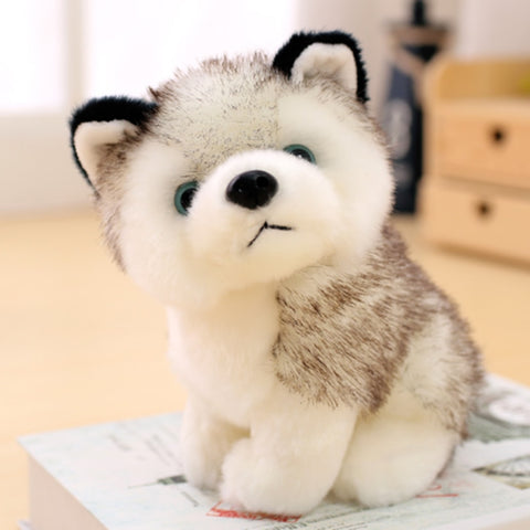 Husky Plush Animal