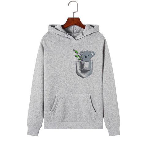 Women Koala Hoodies