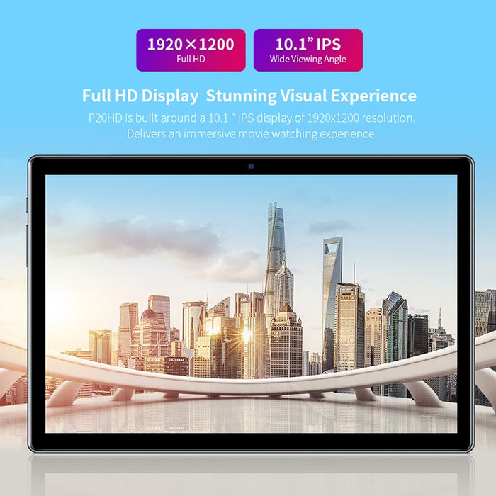 "Teclast P20HD 10.1"" Android 10 Tablet 1920x1200 SC9863A Octa Core 4GB RAM 64GB ROM 4G Network AI Speed-up Tablets PC Dual Wifi"