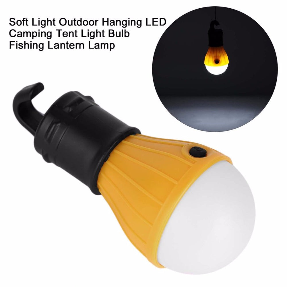 Soft Light Outdoor Hanging Light Outdoor Camping Tent Lantern Bulb Fishing Light Bulb Lamp White Light free shipping - Mondosol shop