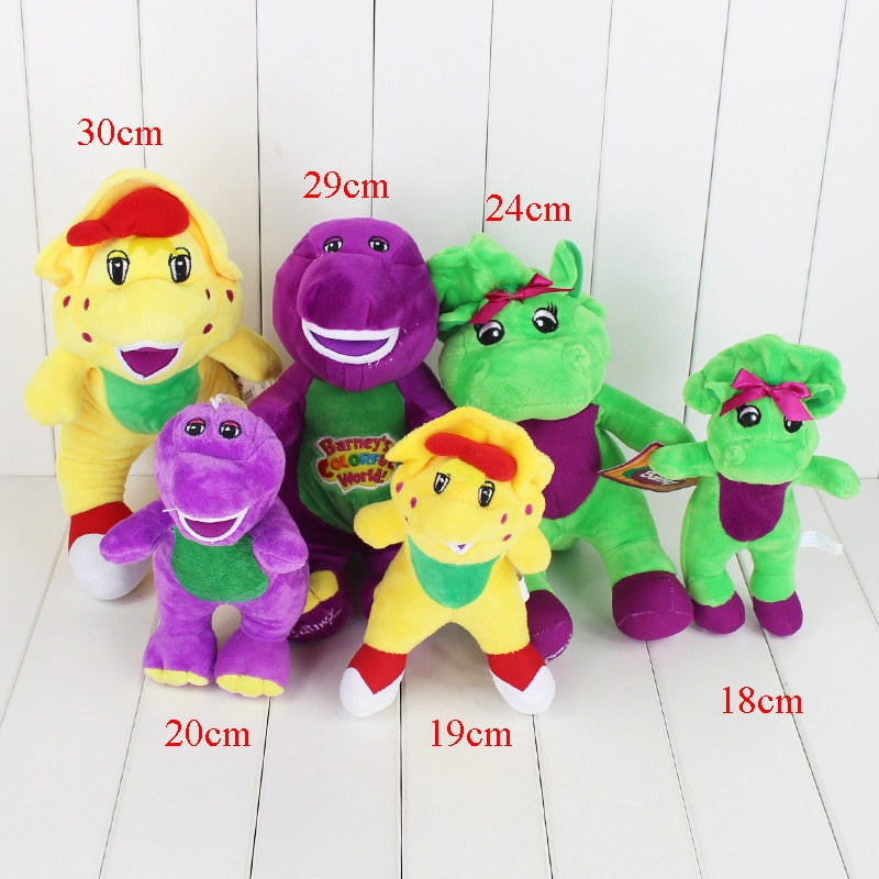 1 Pcs Barney & Friends Plush Toy