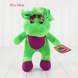 1Pcs Cartoon Movie Barney & Friends Plush Toy