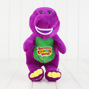 28cm Hot Sale Singing Friends Dinosaur Barney Sing I LOVE YOU Song Plush Doll Toy Christmas Gift For Children - Mondosol shop