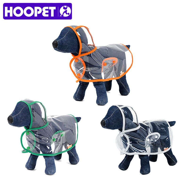 Transparent Waterproof Raincoat for Dog