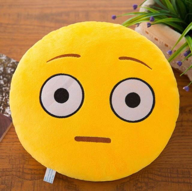 New Smiley Face Emoji Pillows