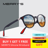 MERRYS Classic Retro Polarized Sunglasses