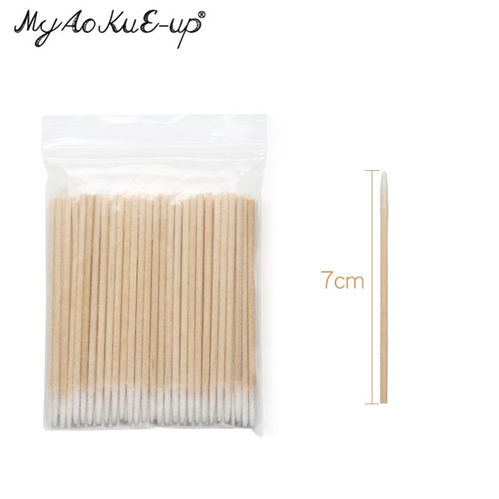 Wood Cotton Buds