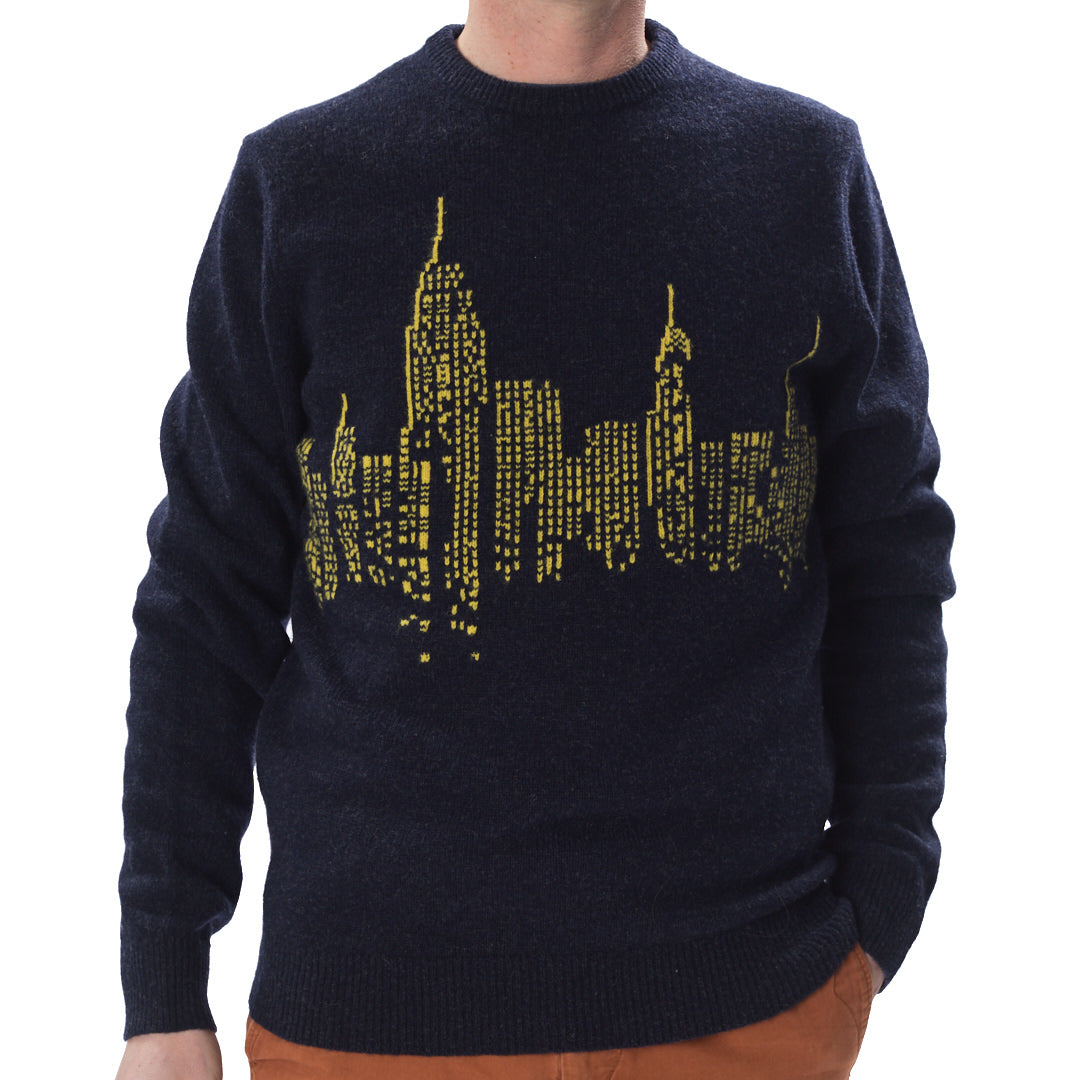 Navy City Sweater