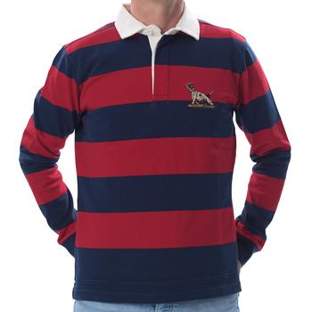 Red Rugby Shirt Hound