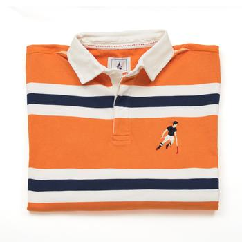 Orange Rugby Shirt Hockey