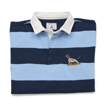 Blue Rugby Shirt Hound