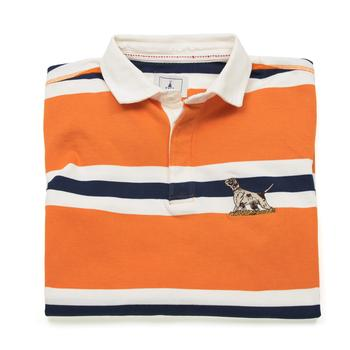 Orange Rugby Shirt Hound