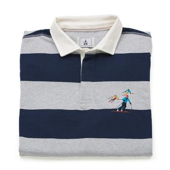 Grey Rugby Shirt Ski