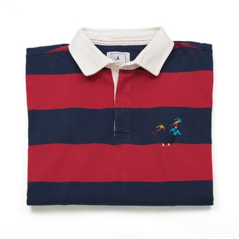 Red Rugby Shirt  Ski