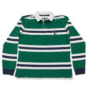 Green Rugby Shirt Ski