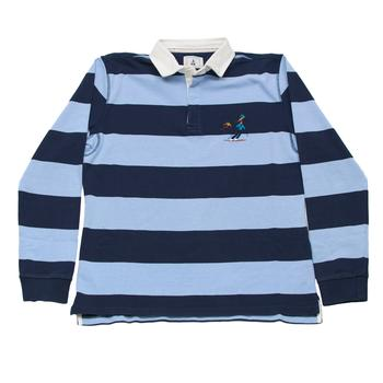 Blue Rugby Shirt Ski
