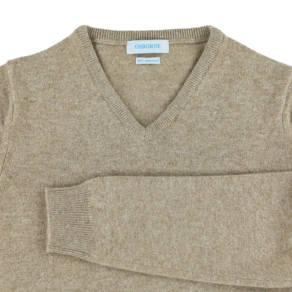 "Woman lambswool V neck ""Colt"""