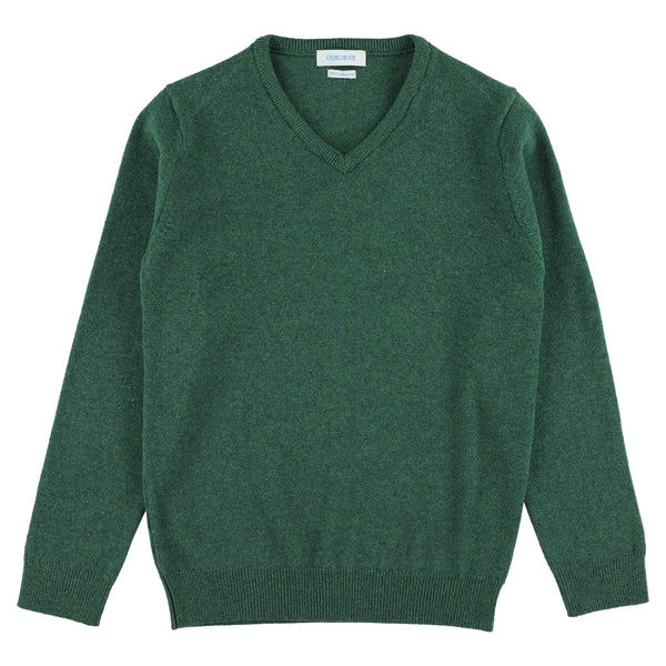 "Woman lambswool V neck ""Cossack"""