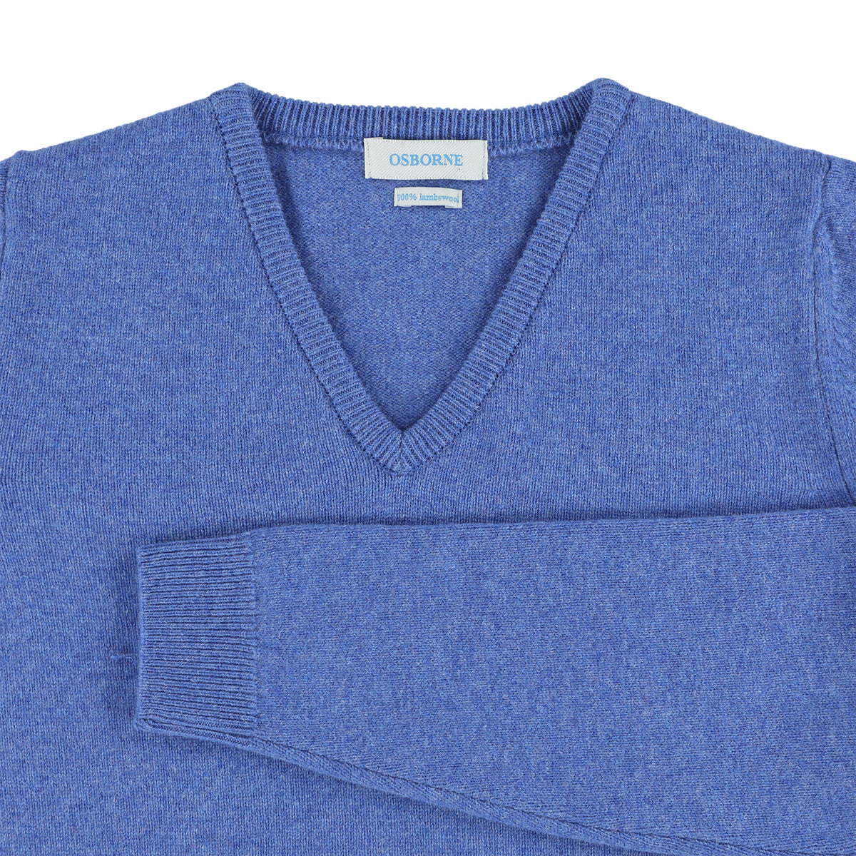 "Woman lambswool V neck ""River"""