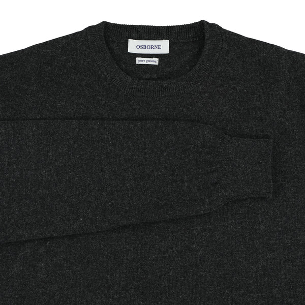 "Geelong crew neck ""Charcoal"""