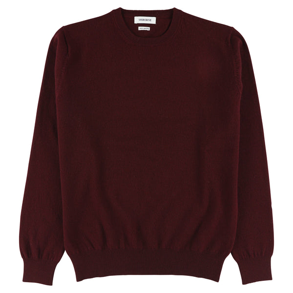 "Geelong crew neck ""Damson"""