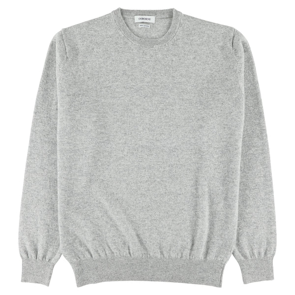 "Geelong crew neck ""silver"""
