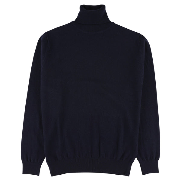 "Geelong roll neck ""Navy"""