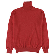"Geelong roll neck ""Poppy Melange"""