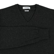 "Geelong V neck ""Charcoal"""