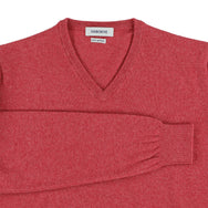 "Geelong V neck ""Rouge"""