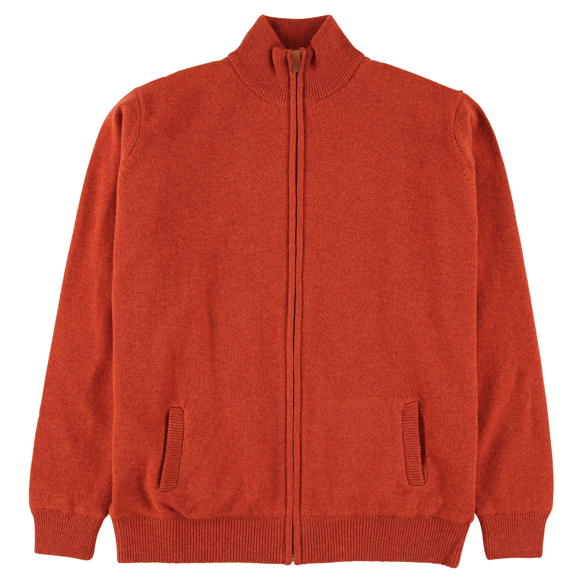 "Windstopper zip cardigan ""Ember"""