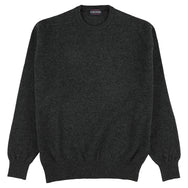 "Lambswool crew neck ""Charcoal"""