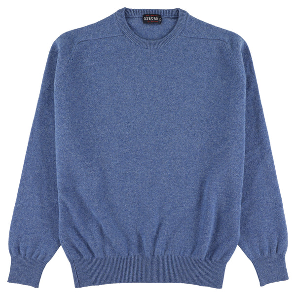 "Lambswool crew neck ""Jeans"""